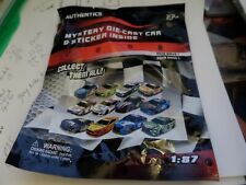 2019 1/87 Nascar Authentics Mystery Die-Cast Car & Sticker Wave 1