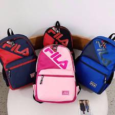Unisex NEW FILA  Outdoor Travel Gear Backpack Hiking Nylon Rucksack School Bag