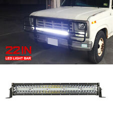 22inch 450W LED Work Light Bar Combo Spot Flood Driving Offroad For Jeep SUV ATV