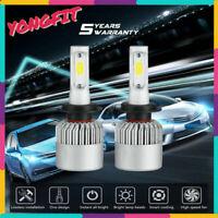 H7 LED Headlight Bulbs Kit CREE for 2001-2017 Volkswagen Passat Low Beam 6000K