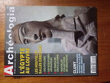 $$d Revue Archeologia N°341 Egypte Louvre  Cyclades  Cluny maisons romanes