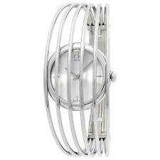 Calvin Klein Fly Silver Dial Steel Bangle Ladies Watch K9923120