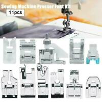 11pcs Presser Foot Feet For Brother Singer Home Sewing Accessories Machine K2C9