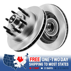 Front Brake Disc Rotors For 2WD CHEVY GMC C2500 C3500 EXPRESS SUBURBAN SAVANA