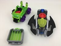 Imaginext Lex Luthor with Cage Batman Plane DC Super Friends Toy Fisher Price