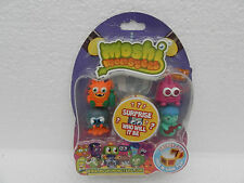 Moshi Monsters Series 3 Moshling Collectable Figures ~ 5 Figure pack ~ New