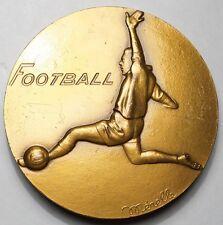BELLE MEDAILLE FOOTBALL 1978 (signée Mérelle)