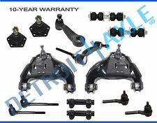 NEW 14pc Suspension Kit Control Arm Ball Joint Tie Rod Pitman & Idler Arm 4x4