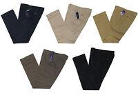 $395 Ralph Lauren Purple Label Mens Italy Flat Front Casual Dress Pants New