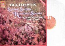 RARE Beethoven Spring / Kreutzer Sonatas Schneiderhan Seemann LP - Heliodor 1961