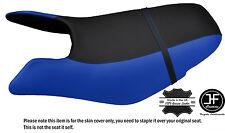 Black & r bleu personnalisé pour seadoo gtx gti 97-01 avant vinyle housse de siège + sangle