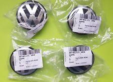 Set of 4 Genuine VW Alloy Wheel Centre Caps  3B7601171 XRW 66mm