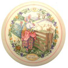 Wedgwood 1988 childrens wall plaque Little Bo Peep Nursery Rhymes CP194
