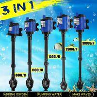 Aquarium Fish Tank Powerhead Wave Maker Purifier Filter Oxygen Water Pump