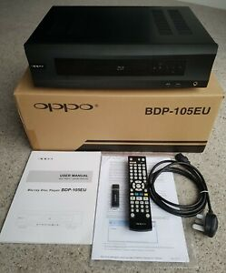 OPPO BDP-105EU Blu-Ray Player in excellent condition