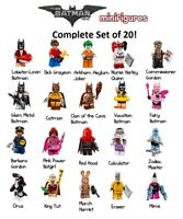 LEGO Batman Movie Series 1 Minifigures Complete Set of 20 Opened To Verify 71017