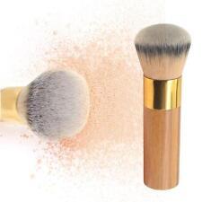 Pro Buffer Airbrush Finish Bamboo Foundation Contour Powder Brush Makeup