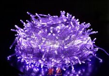 Xmas 100M 800LED Light String Outdoor Waterproof Fairy Christmas 220V Purple