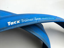 TACX Indoor Training Tyre Bike Blue Tubro Trainer Protective 23-622 (700 x 23c)