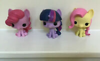 My Little Pony Funko Pops Lot Of 3, Twilight Sparkle, Fluttershy, Pinkie Pie