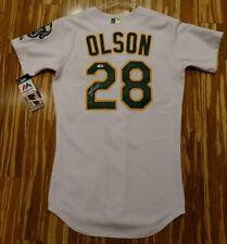 Auto/Signed Authentic Matt Olson Oakland A's Athletics Jersey COA PSA/DNA