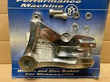 Performance Machine Rear Bracket Polished for 4-Piston Classic Caliper Dyna