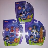 Set of 3 Miles from Tomorrow Land Acion Figure Kids Toys Lot