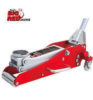 Torin Big Red 1.5Tonne Aluminium/Steel Trolley Jack Lightweight 15kg Low Profile