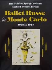 BOEK/LIVRE : BALLET RUSSE DE MONTE CARLO 1938-44 (kostuum ontwerpen,russisch