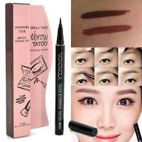 Cosmetic 7Day Eyebrow Tattoo Pen Liner Waterproof Long Lasting Eye Makeup Pencil