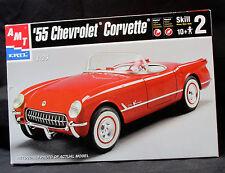 '55 Chevrolet Corvette - 1:25 Scale - AMT/ERTL - Contents Sealed In Box!