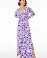 Lilly Pulitzer NWT Nichola Maxi Dress Love You Bunches