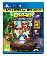 CRASH BANDICOOT N SANE TRILOGY PS4 EN CASTELLANO ESPAÑOL NUEVO PRECINTADO PS4