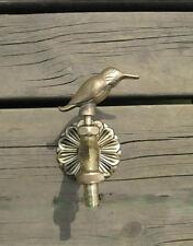 VTG Antique Bird Style Garden Wall Mounted Water Tap Brass&Copper Mix Faucet-1#