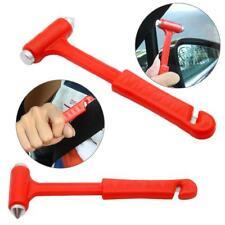 2 in 1 Mini Car Safety Hammer Life Saving Emergency Hammer Seat Belt Cutter Tool