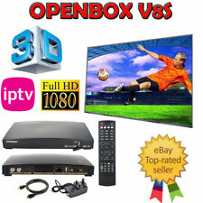 100% Genuine Openbox V8S Digital Freesat PVR Full HD TV Satellite Receiver Box