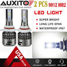 2X 9012 LED Headlight Bulbs Kit for GMC Acadia 2012-2016 Sierra 1500 2014-2015 A
