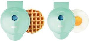 Dash Mini Flower Waffle Maker - Aqua