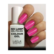 Layla Cosmetics Milano Lamp Gel Polish-smalto per le Unghie My Very Pink