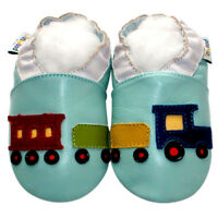 Jinwood Littleoneshoes Soft Sole Leather Baby Kid MoccasinNavyLace Shoes 6-12M