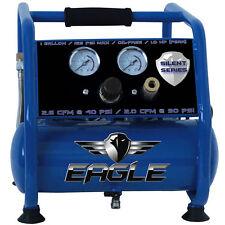 Eagle Silent Series 1-HP 1-Gallon Hot Dog Air Compressor