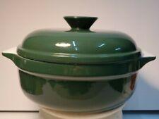 "Emile Henry Covered Baking Dish Green 10"" Vintage Green (Retired)"