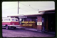 King Salmon Alaska, Wien Consolidated Airlines Sign in 1969, Original Slide g22a