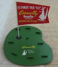 1966 Connolly Kanga-Par Golf Shoes Colorama Shoe Selector Exibit Store Display