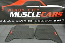 2014-18 GMC Sierra 1500 / 2500 / 3500 Premium All Weather Floor Mats BLACK