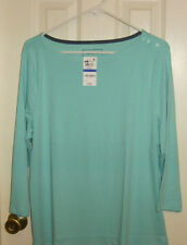 NWT Charter Club knit top size XL