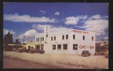 Postcard Oasis Nv Local Area Tourist Hotel Cafe & Bar w/Slot Machines 1940's