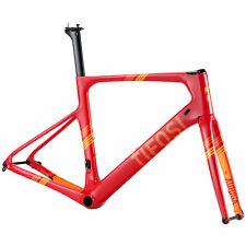 NEW Tifosi Auriga Disc Frameset MEDIUM RRP £999.99 Red Orange Road Carbon (M)