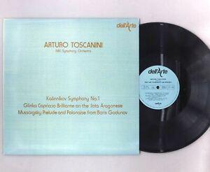 """Kalinnikov - Symphony No.1 - Toscanini - NEAR MINT - 12"""" Vinyl LP - DA 9011"""