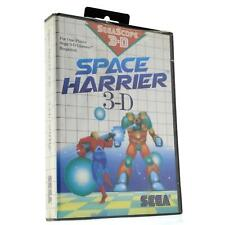 "Brand New! SEGA MASTER SYSTEM ""SPACE HARRIER 3-D"" SMS Video Game FACTORY SEALED"